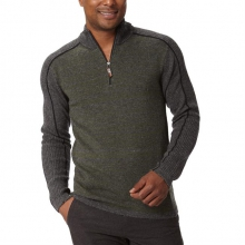 Men's Fireside Wool Stripe 1/4 Zip in Fairbanks, AK