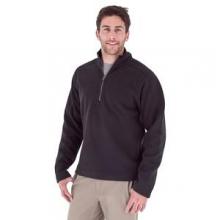 Gunnison 1/4-Zip Fleece Top Men's, Jet Black, M by Royal Robbins