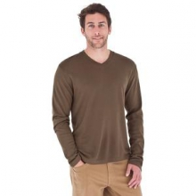 Duke V-Neck Sweater Men's, Timber, M by Royal Robbins