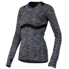 Flash Long Sleeve Run Tee - Women's - Black In Size: Large by Pearl Izumi