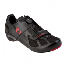 Race Road III Cycling Shoe - Men's - Black/Black In Size: 42.5 by Pearl Izumi