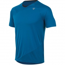 Flash Short Sleeve Shirt Mens - Limoges Brilliant Blue M by Pearl Izumi