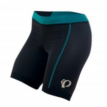 - W Select Tri Short - X-Small - Black/Deep Lake by Pearl Izumi