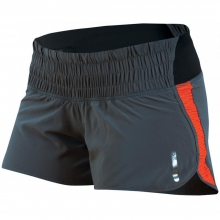 Flash Short Womens - Shadow Grey/Mandarin Red S by Pearl Izumi