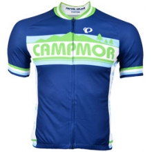 Campmor SELECT Full Zip Cycling Jersey - Men's - Campmor Blue In Size by Pearl Izumi