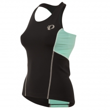 - W Select Pursuit Tri Tank - x-small - Black/Aqua Mint