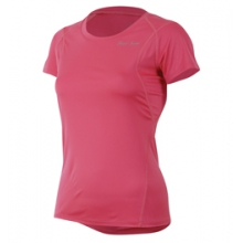 Fly Short Sleeve Run Tee - Women's - Honeysuckle In Size: Large by Pearl Izumi