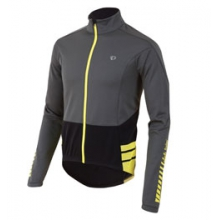 Elite Thermal Long Sleeve Jersey - Men's - Shadow Grey/Black In Size: Large by Pearl Izumi