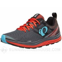 - Mens EM Trail M2 V3 - 12 - Shadow Grey/Grenadine by Pearl Izumi