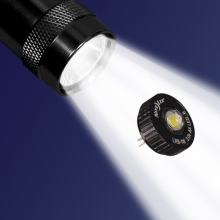 2 Watt LED Upgrade II for AA Mini Maglite