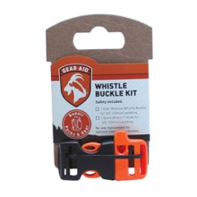 "Gear Aid Sternum Whistle 3/4"" Buckle - Orange by McNett"
