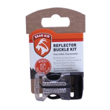 "Gear Aid Reflector 1"" Buckle Kit - Silver by McNett"