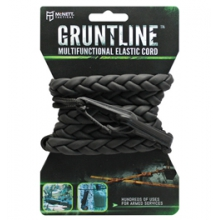 Tactical Gruntline Deluxe Multifunctional Elastic Cord - Black by McNett