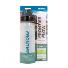 Aquamira Frontier Filtered Water Bottle Green Filter - White in Pocatello, ID