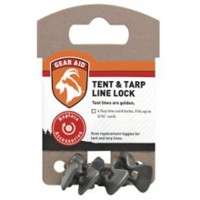 Gear Aid Tent & Tarp Line Lock 4pk - Black in Peninsula, OH