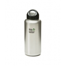 40oz Kanteen Wide (w/Stainless Loop Cap) by Klean Kanteen