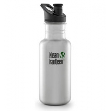 18 oz. Classic Bottle With Sport Cap by Klean Kanteen