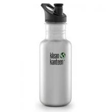 18 oz. Classic Bottle With Sport Cap by Klean Kanteen