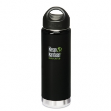 Wide Insulated Bottle - 20 oz.: Black Eclipse by Klean Kanteen