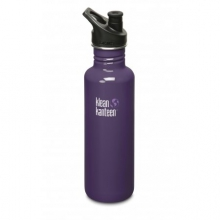 Classic 27 oz. Stainless Steel Water Bottle Sport Top by Klean Kanteen