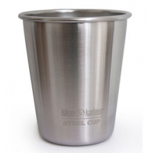 Stainless Steel 10 oz. Cup - Brushed Stainless by Klean Kanteen