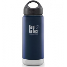 16 oz Wide Insulated Loop Cap Bottle - Deep Sea by Klean Kanteen