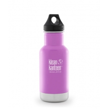 - 12oz Classic Vacuum Insulated w Loop Cap by Klean Kanteen