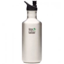 Stainless Steel 40 oz. With Sport Cap Bottle BPA Free
