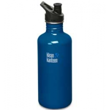 Stainless Steel 40 oz. With Sport Cap Bottle BPA Free by Klean Kanteen