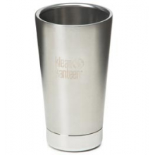 Stainless Steel Vacuum Insulated Tumbler and Cup - Brushed Stainless by Klean Kanteen