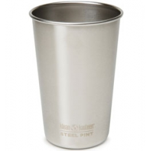 16 oz Pint Cup - Brushed Stainless by Klean Kanteen
