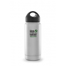 Vacuum Insulated Wide 16oz Water Bottle with Loop by Klean Kanteen