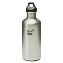 40oz Loop Cap Stainless Steel Bottle by Klean Kanteen
