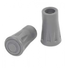 Rubber Tips 2 Pk for Trekking Poles - Grey by Kelty