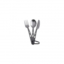 Titanium 3 Piece Cutlery Set by Katadyn