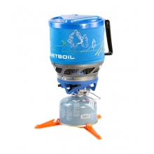 - Jetboil MiniMo Blue w/Line Art by Jetboil