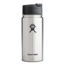 - 16oz Wide Mouth w/Flip Lid by Hydro Flask