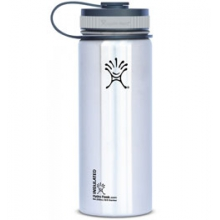 18 oz Wide Mouth Vacuum Insulated Stainless Steel Water Bottle