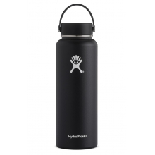 - 40 oz Wide Mouth - White by Hydro Flask