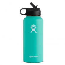 Hydroflask Wide Mouth 32oz w/ Straw Lid