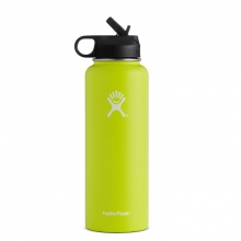Hydroflask Wide Mouth 40oz w/ Straw Lid