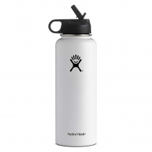 40oz Wide Mouth Insulated Bottle with Straw Lid by Hydro Flask