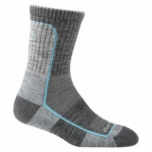 Women's Light Hiker Micro Crew Light Cushion Socks by Darn Tough in Colville Wa