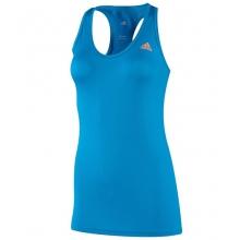 - W Too Perfect Tank - Solar Blue by Adidas