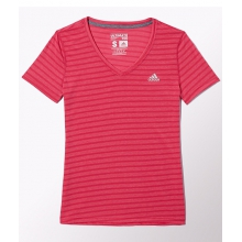 - W Ultimate Short Sleeve V-Neck by Adidas