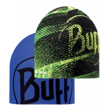 Coolmax Reversible Hat R-Flash Logo Yellow Fluor/Blue Ink by Buff