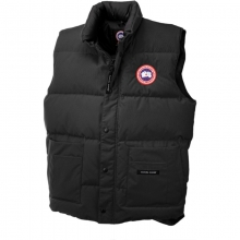 Mens Freestyle Vest - New Black XL by Canada Goose