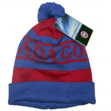 - Logo Pom Hat - OS - Blue/Red by Canada Goose