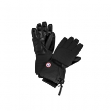 Womens Artic Down Gloves  - Closeout Black Small by Canada Goose