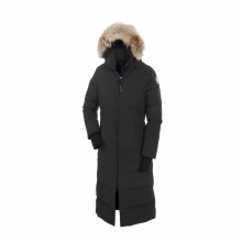 Womens Mystique Parka - New Black X Small by Canada Goose